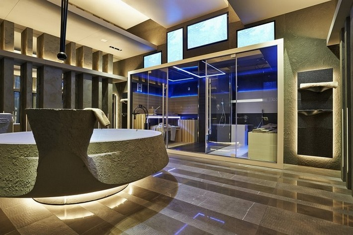NEW SUITE SPA BY ALBERTO APOSTOLI alberto apostoli New Suite Spa by Alberto Apostoli modern spa 3