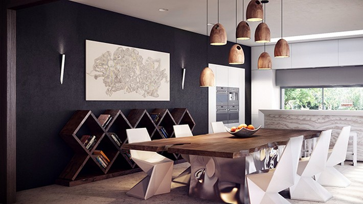 Amazing Ideas to decorate a dining room  Amazing Ideas to decorate a dining room rustic modern dining table