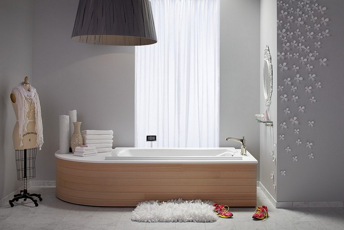 A little feminine touch for your luxury bathroom1  A little feminine touch for your luxury bathroom A little feminine touch for your luxury bathroom1