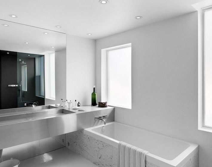 Be inspired with this bathrooms steel look  Be inspired with this bathrooms steel look Be inspired with this bathrooms steel look 710x560
