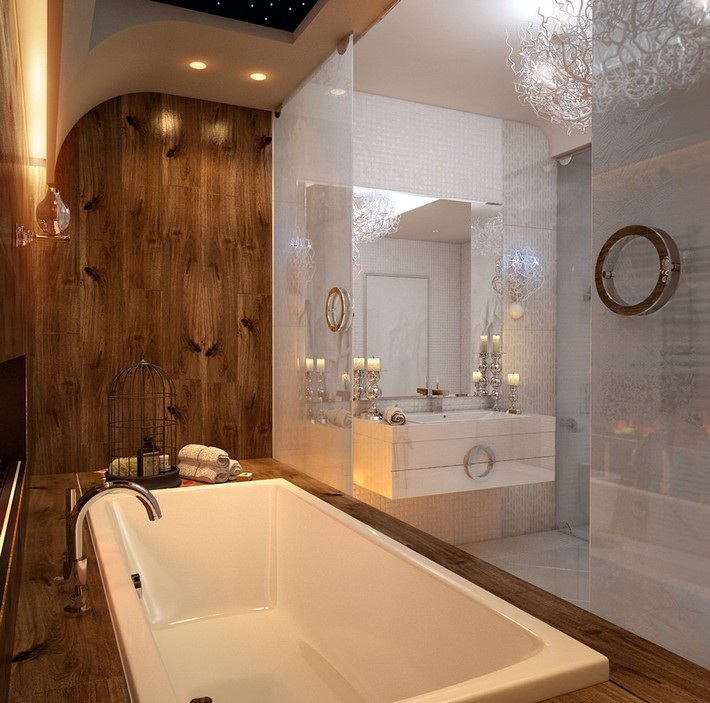 Beautiful wooden bathroom designs inspiration and ideas for Pictures of beautiful small bathrooms