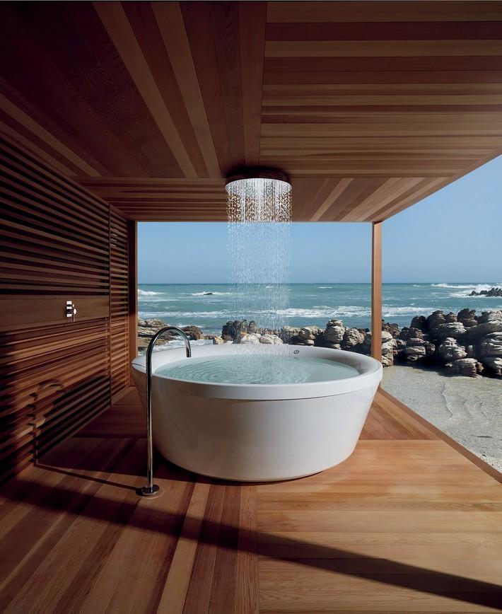 Beautiful Wooden Bathroom designs   Inspiration and Ideas ... on Beautiful Bathroom Ideas  id=53430