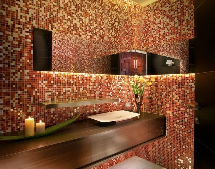Best Ideas to Have a colorful bathroom  Be inspired with this colorful bathrooms Best Ideas to Have a colorful bathroom4 710x560