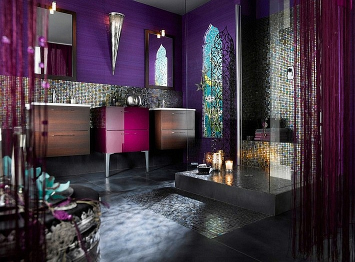 Get The Moroccan Style For Your Luxury Bathroom3 Bathroom