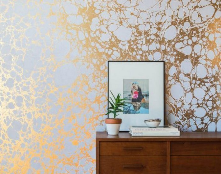 Get the look with this Gold Marble Surfaces