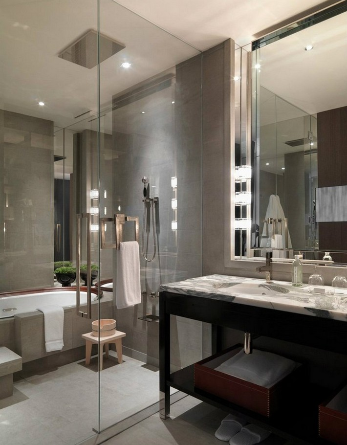 Get The Luxury Look With A Tub In The Shower Inspiration