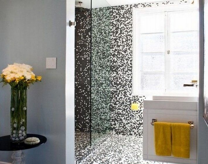 LUXURY BATHROOM MOSAIC BATHROOM DESIGN TILES.