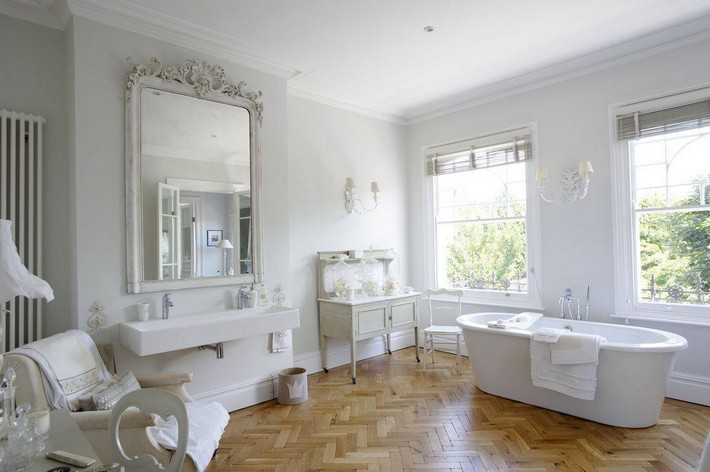 shabby chic bathroom ideas | inspiration and ideas from maison
