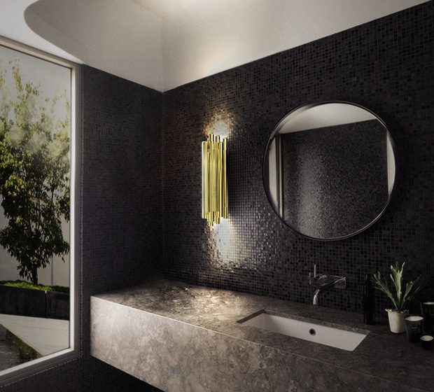 The Perfect Wall Lighting for a Luxury Bathroom The Perfect Wall Lighting for a Luxury Bathroom 620x560