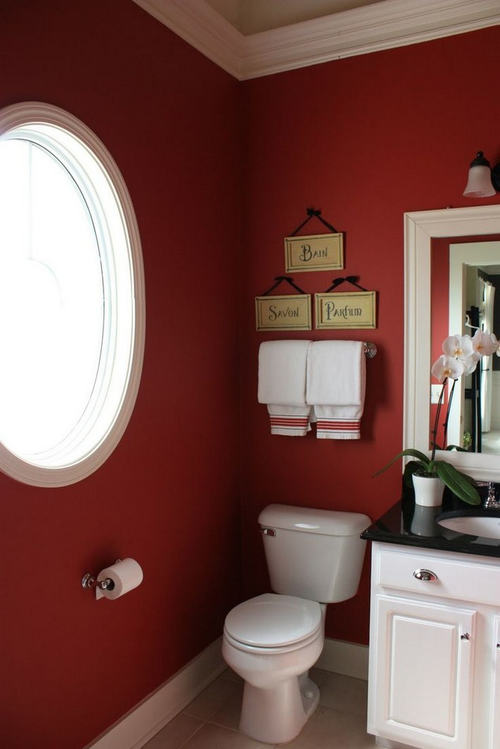Ideas to use Marsala on your bathroom decor | Inspiration ...