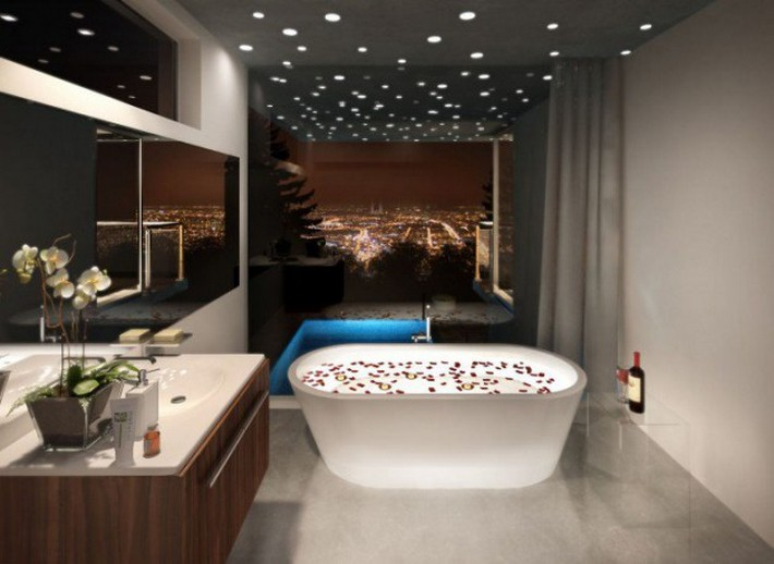 Extravagant Bathroom Ceiling Designs to be inspired | Inspiration ...