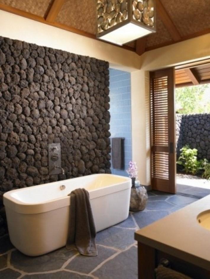 stone bathroom designs