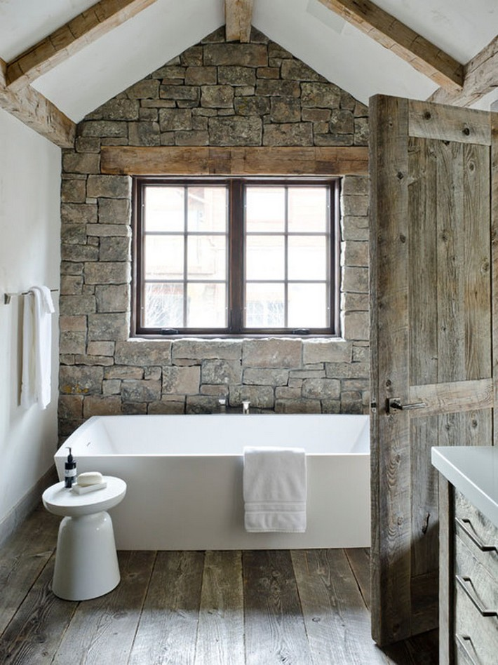 Beautiful Rustic Modern Bathroom Rustic Modern Bathroom Design Ideas  Beautiful Rustic Modern Bathroom