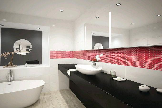10 amazing bathroom tile ideas 10 amazing bathroom tile ideas2 Tic Tac Tiles