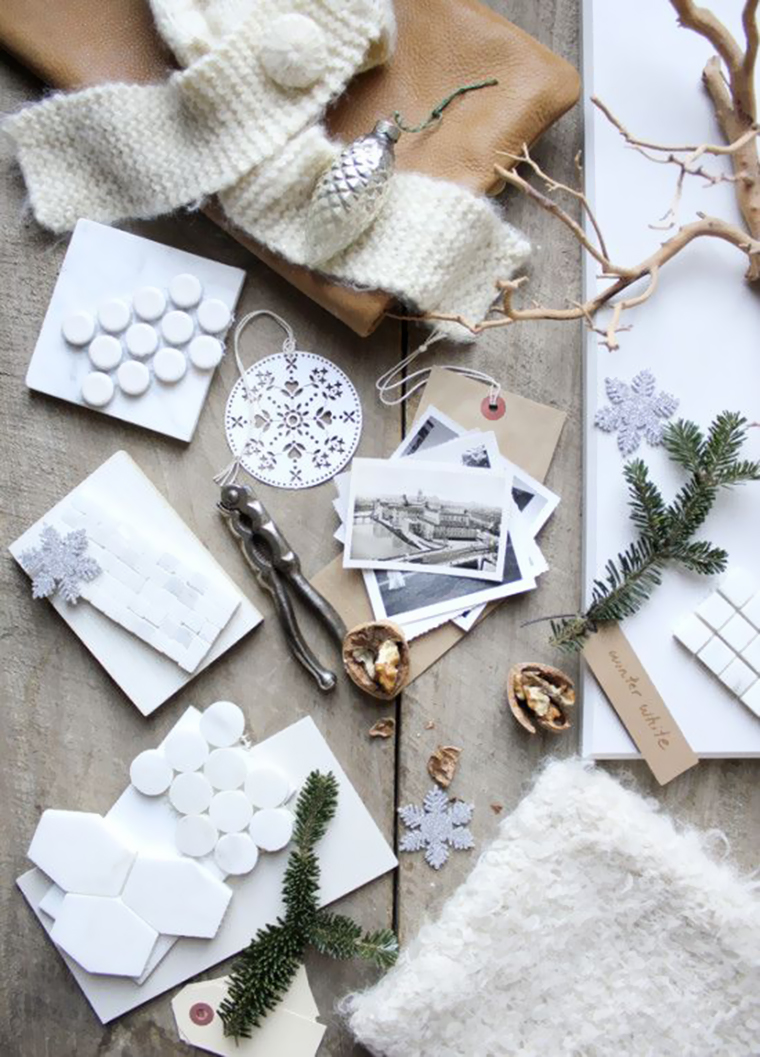 348 Best Images About Mood Board Inspiration On Pinterest: WHITE CHRISTMAS DECOR FOR LUXURIOUS BATHROOM
