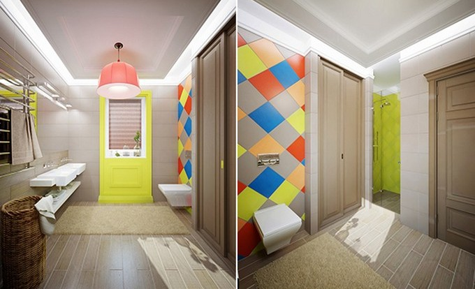 children s bathroom tiles colorful and bathrooms designs 12313