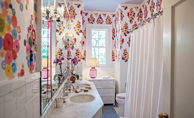 9-flower-bath kids bathrooms Colorful and funny kids bathrooms designs 9 flower bath e1449489341424