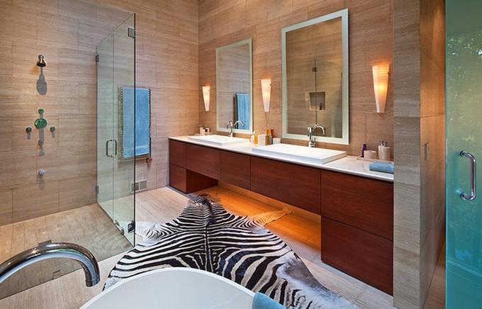 animal prints for luxury bathrooms zebra bathroom decorating ideas