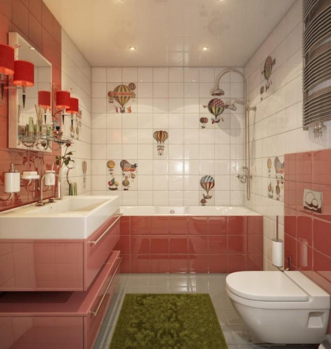 ballon kids bathrooms Colorful and funny kids bathrooms designs ballon e1449489490759