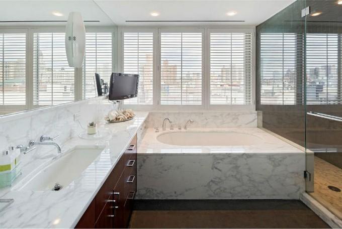 Bathroom-design-7 marble bathroom 10 Marble bathroom ideas for your home Bathroom design 7