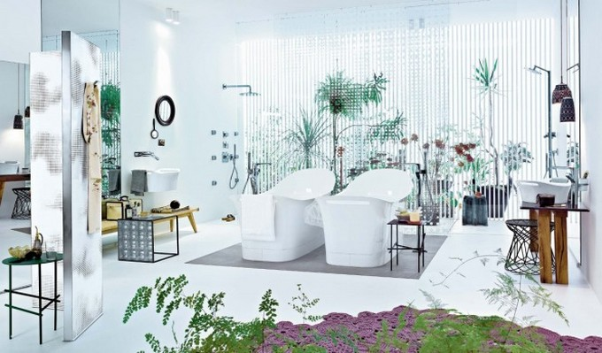 Top Bathroom Designers top bathroom designers Top Bathroom Designers That Will Elevate Your Bathroom With Their Projects Patricia Urquiola modern white bathroom design