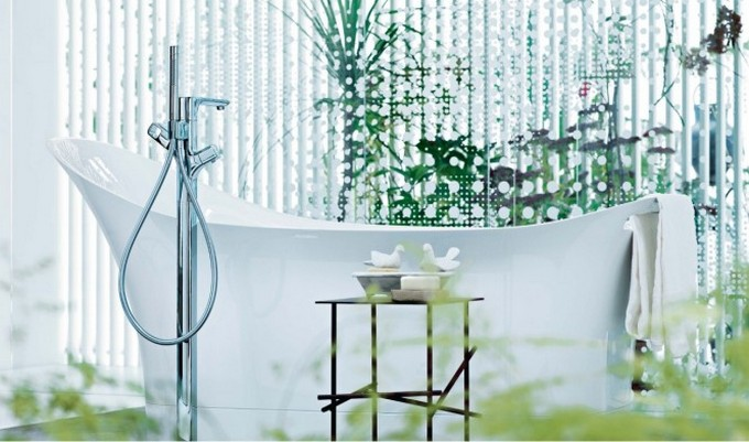 Top Bathroom Designers top bathroom designers Top Bathroom Designers That Will Elevate Your Bathroom With Their Projects Patricia Urquiola white rolltop bath