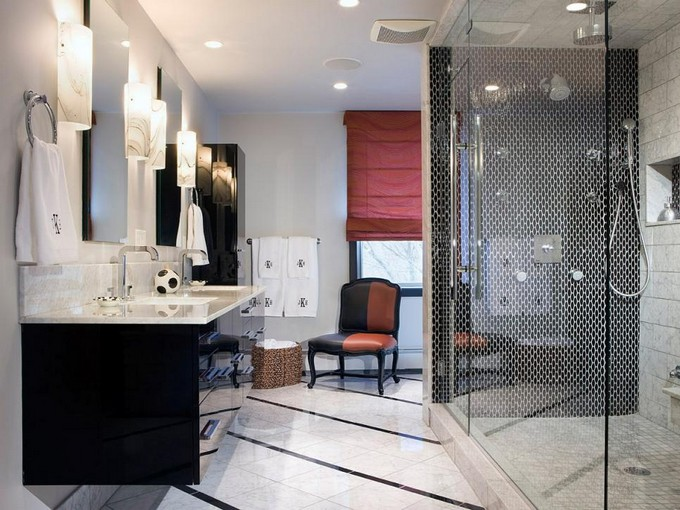 black and white Black and white bathrooms Black and white bathrooms Design ideas black and white