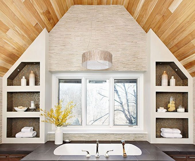 soaking tubs Incredibly Relaxing Soaking Tubs To Inspire You center e1452514862638 679x560