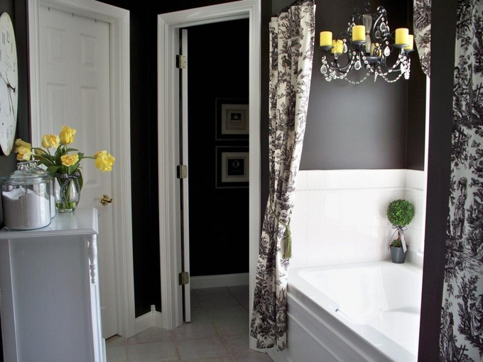 htv Black and white bathrooms Black and white bathrooms Design ideas htv