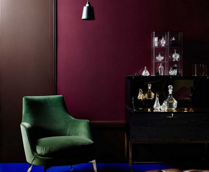 winter color WINTER COLOR 2016 HOME INTERIOR DESIGN burgundy blue and green home winter colours 1 680x560
