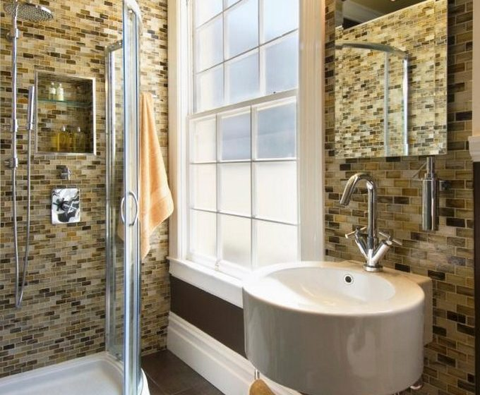 small bathrooms Small Bathrooms mean Big Designs grey bathroom 680x560