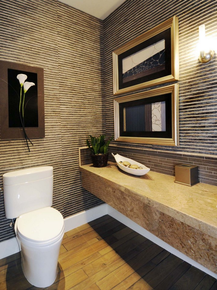 small bathrooms design small bathrooms Small Bathrooms That Will Blow Your Mind. DesignLens bamboo wall bath s3x4