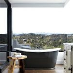 feature Luxury Bathroom with mountain views 14
