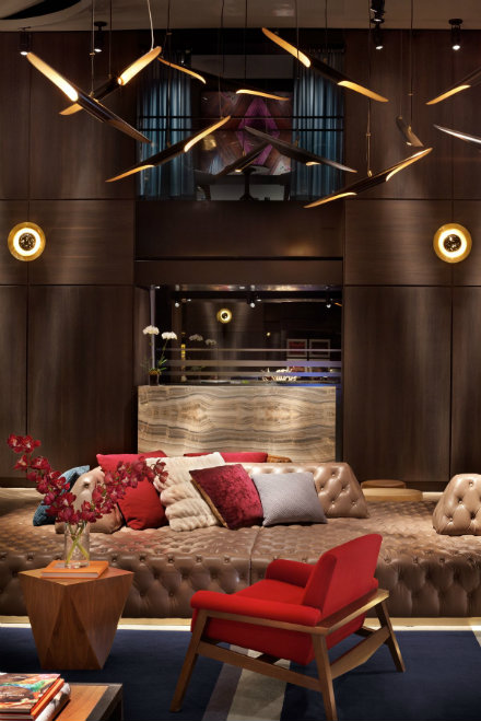 Luxury Design From Paramount Hotel In New York