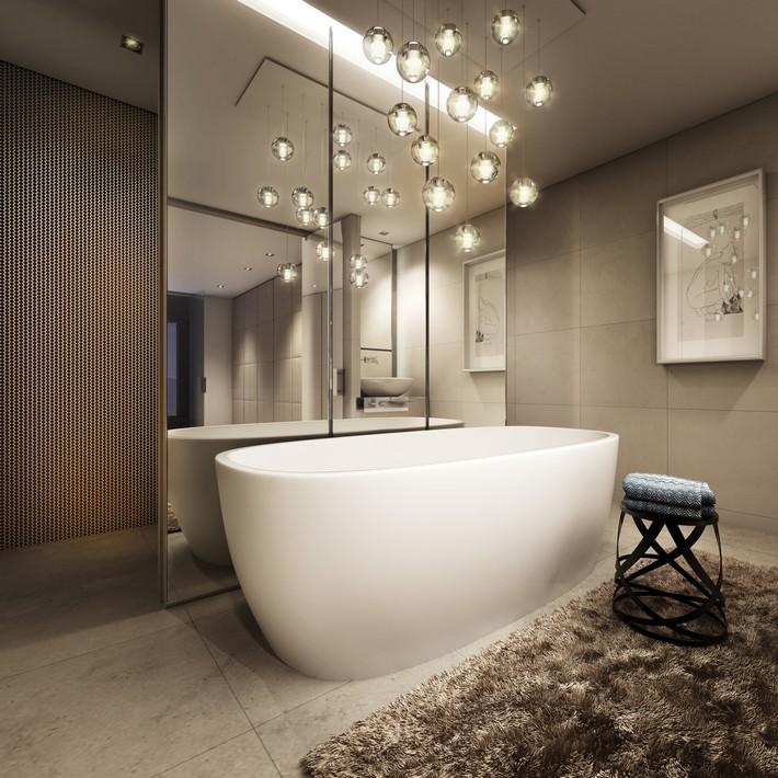 Wonderful 11 Stunning Photos Of Luxury Bathroom Lighting  Pegasus Lighting Blog