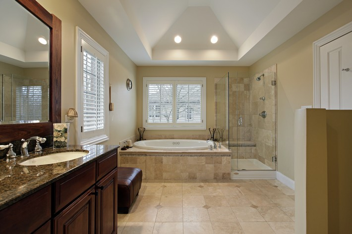 Master bath with glass shower luxury bathrooms 40 Extra Luxury Bathrooms Ideas that Will Blow Your Mind Fotolia 58547128 Subscription Monthly XL