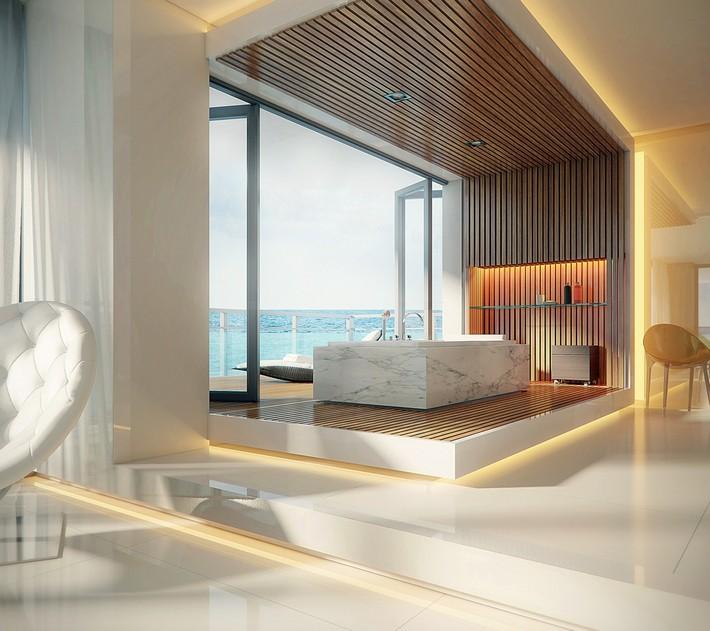 Spa-Like-MArble-Bathroom-Designs luxury bathrooms 40 Extra Luxury Bathrooms Ideas that Will Blow Your Mind Spa Like MArble Bathroom Designs
