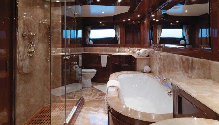 Yacht ENCHANTRESS -  Master Bathroom luxury bathrooms 40 Extra Luxury Bathrooms Ideas that Will Blow Your Mind Yacht ENCHANTRESS Master Bathroom