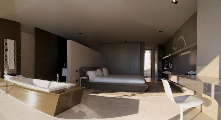 Caandesign Master Bedroom Incredible Open Bathroom Concept For
