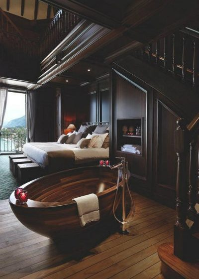 master bedroom Incredible Open Bathroom Concept for Master Bedroom feature image interior design trend 400x560