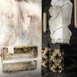 feature marble bathrooms ideas