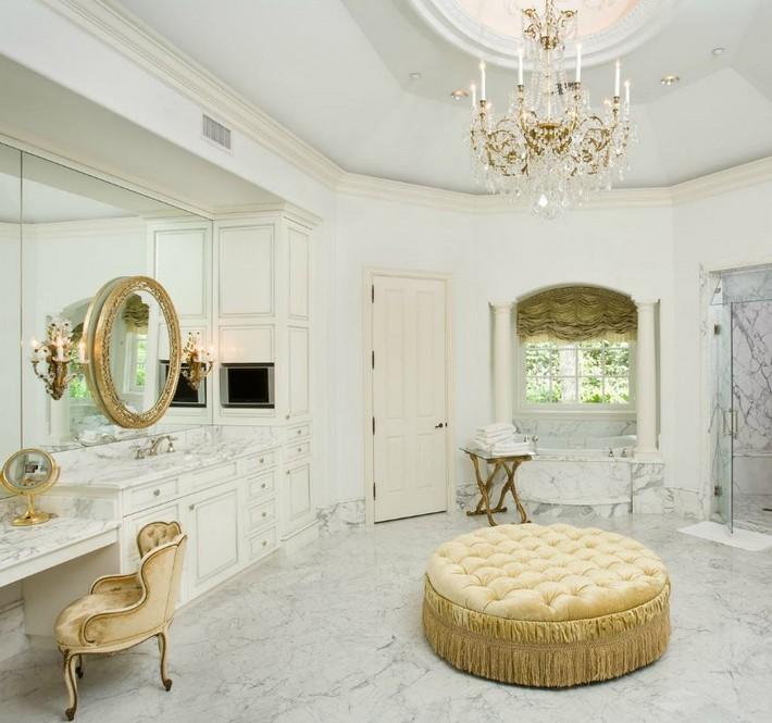 small bathroom lighting ideas photos - Luxury Marble Bathrooms