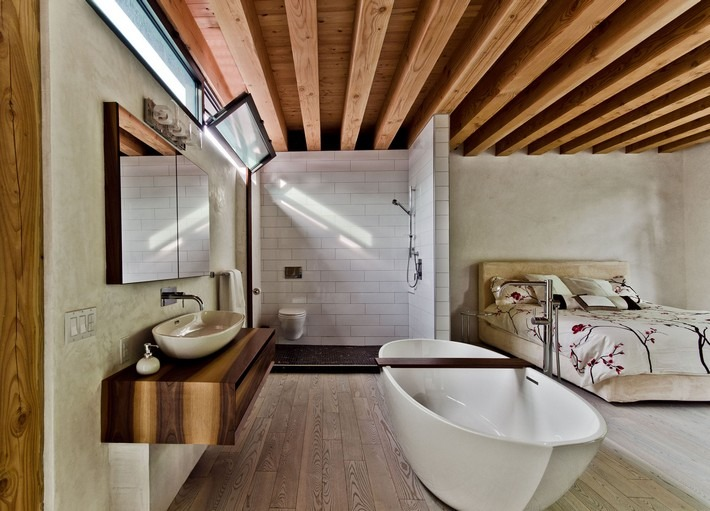 incredible open bathroom concept for master bedroom rh maisonvalentina net