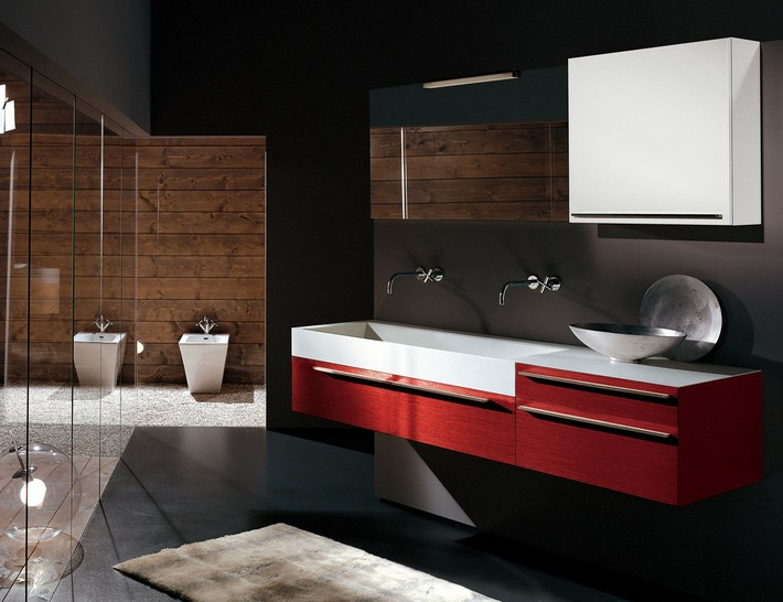 Contemporary-bathroom-for-small-spaces contemporary bathroom How to Create a Contemporary Bathroom Contemporary bathroom for small spaces
