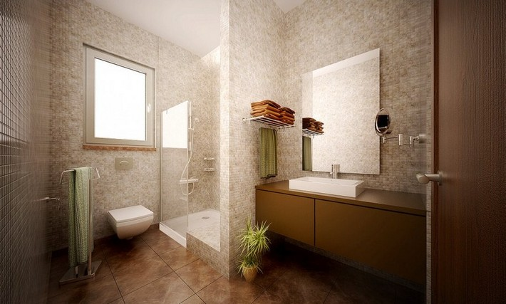 Modern Bathroom Design Ideas Pictures Amp Tips From Hgtv Bathroom inside Modern Bathroom Pictures contemporary bathroom How to Create a Contemporary Bathroom simple bathroom vanity focused on wood drawer plus rectagular washbasin with decorative glass shower and tile wall
