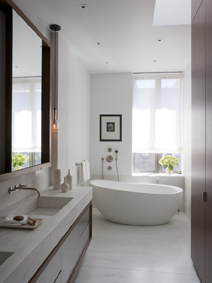 white bathroom design ideas minimalist white bathroom designs to fall in love 6739