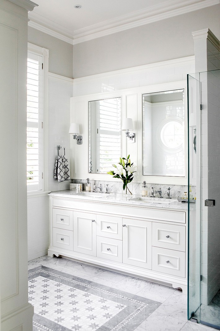 white bathroom design ideas minimalist white bathroom designs to fall in love 5834