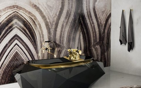 master bathroom ideas brown surfaces Brown Surfaces:  Choose the one that fits best in your luxury bathroom 9 diamond bathtub matheny suspension maison valentina HR 480x300
