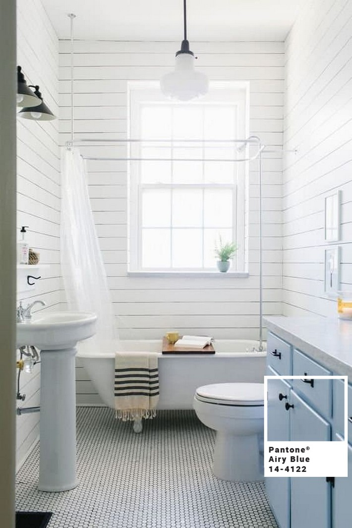 Pantone Airy Blue Inspiration for your Bathroom  pantone airy blue Pantone Airy Blue Inspiration for your Bathroom Pantone Airy Blue Inspiration for your Bathroom 3
