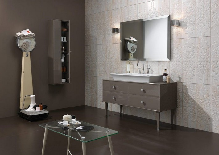 Sprinkle Your Bathroom With The Warm Taupe Pantone